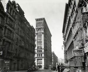 Broadway near Broome Street, Manhattan.