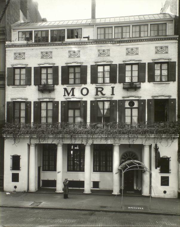 Mori's Restaurant, 144 Bleecker Street, Manhattan.