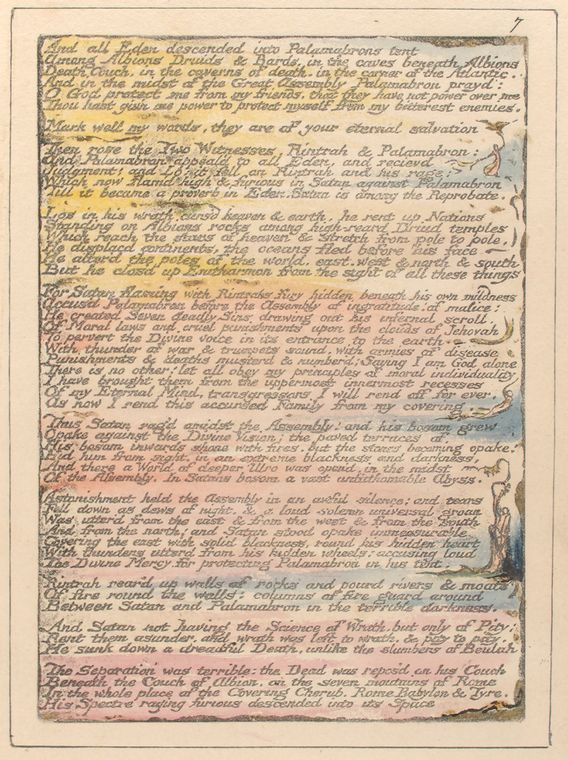 This is What William Blake and An all Eden descended Looked Like  on 1/1/1808