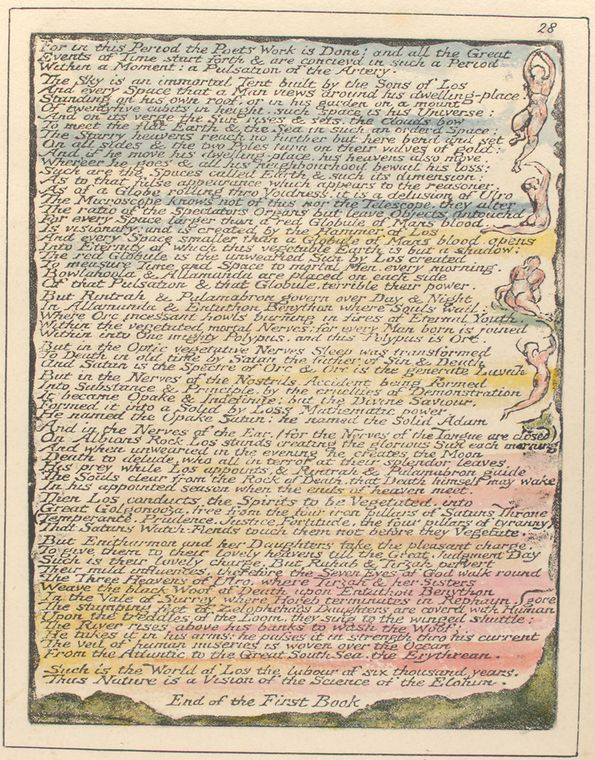 This is What William Blake and For in this Period Looked Like  on 1/1/1808
