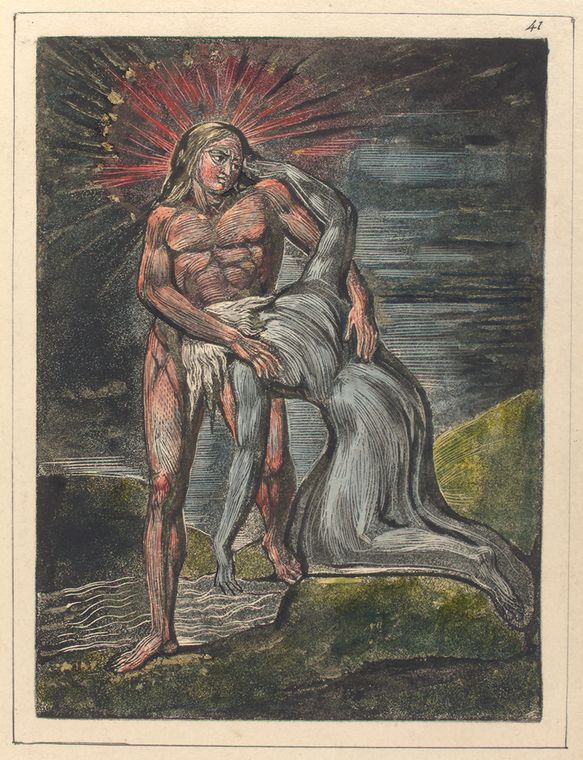 This is What William Blake and Wo figures Looked Like  on 1/1/1808