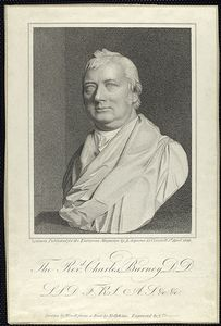 The Rev-d Charles Burney, D.D. ...
