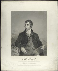 Robert Burns. (From the original painting by Chappel in the possession of the publishers)