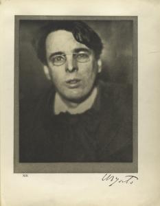 W. B. Yeats, Dublin, January 2... Digital ID: 483420. New York Public Library