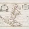 """L""""Amerique septentrionale : dressée sur les observations de Mrs. de l'Academie Royale des Sciences & quelques autres, & sur les memoires les plus recens"""