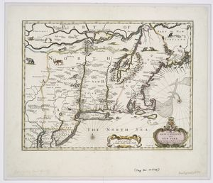 A map of New England and New York / F. Lamb sculp.