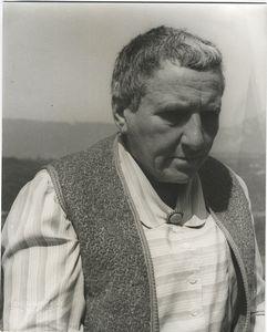 Gertrude Stein at Bilignin, June 13, 1934.