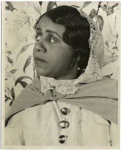 Beatrice Robinson-Wayne as St. Therese in Four Saints in Three Acts. March 9, 1934.