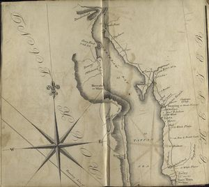Map of the Hudson ... from Tarrytown to Dunderbergh.