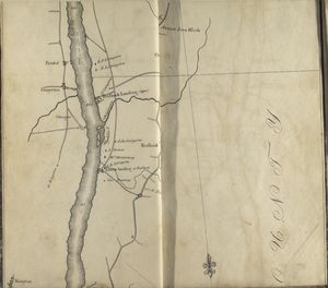 Map of the Hudson ... from Rhynbeck to Germantown.