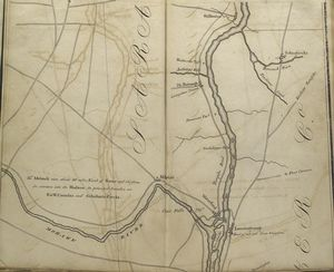 Map of the Hudson ... from Lansingburgh and the falls of the Mohawk to Stillwater.