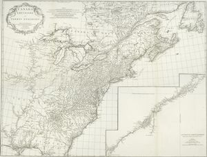 Canada, Louisiane et terres angloises / par le Sr. d'Anville ...
