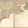 Nova tabula geographica complectens borealiorem Americae partem.
