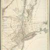 Carte des troubles de l'Amérique, levée part ordre du Chevalier Tryon, Capitaine Général et Gouverneur de la province de New-York ensemble la province de New-Jersey.