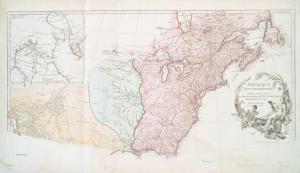 Amérique Septentrionale publiée sous les auspices de Monseigneur le Duc d'Orleans prémier prince du sang / par le Sr. D'Anville.