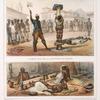 L'exécution de la punition du fouet; Nègres ào [au] tronco.