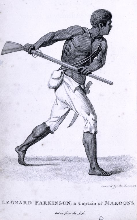 Leonard Parkinson, a Captain of Maroons.
