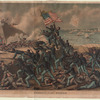 Storming Fort Wagner, charge of the 54th Massachusetts Colored Regiment, July 18, 1863.