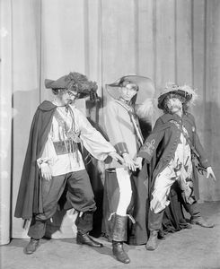 "['Three musketeers'] L to R: Philip Loeb, Sterling Holloway and Romney Brent in the ""Garrick Gaieties"" (1930)"