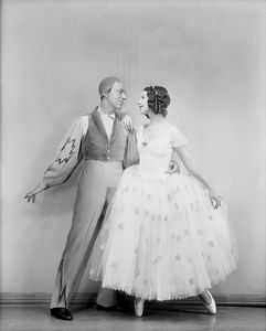 Fred Astaire and Tillie Losch in The Band Wagon (1931). Costumes by Constance Ripley.