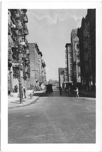 at Rivington Street and Lewis Street,  to East, Manhattan