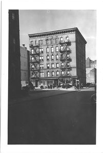 at Rivington Street and Mangin Street,  to Northwest, Manhattan