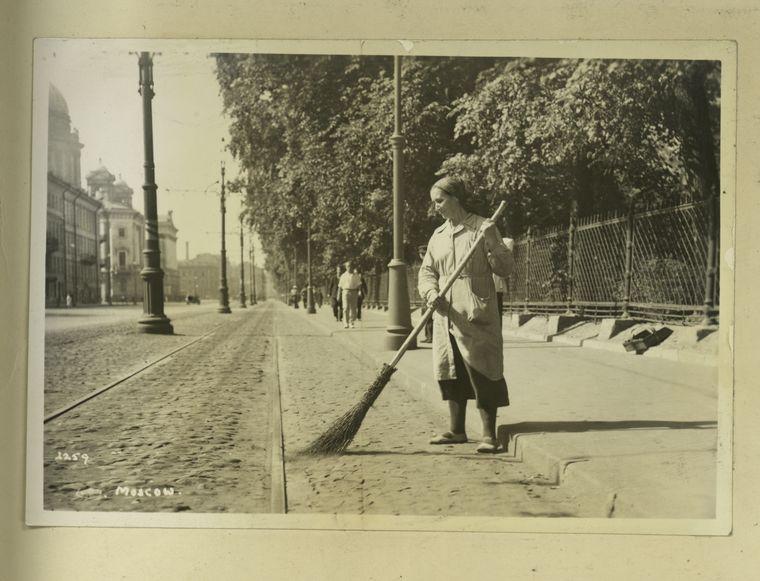 Москва на старинных фотографиях из New York Public Library