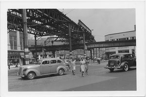 Fulton Street at 5th Avenue and Nevins Street,  to , Brooklyn