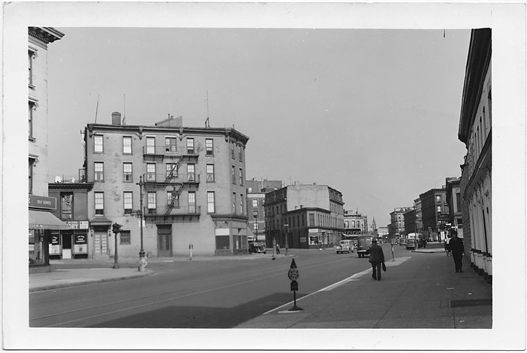 Fulton Street at Clermont Aveue,  to East, Brooklyn