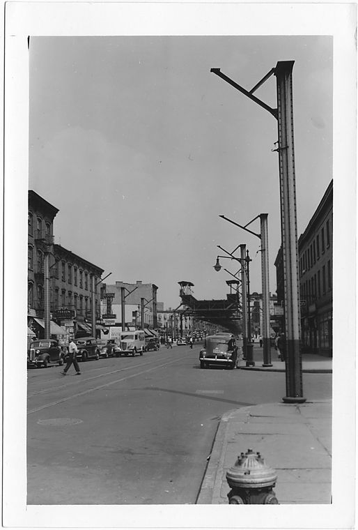 Fulton Street at St. Felix Street,  to East, Brooklyn