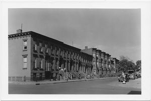 Rutledge Street at Marcy Avenue,  to East, Brooklyn
