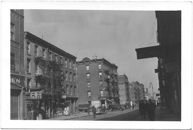Avenue B at 15th Street, East side to North, Manhattan