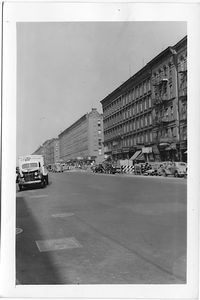 Columbus Avenue at 90th Street, East side to North, Manhattan