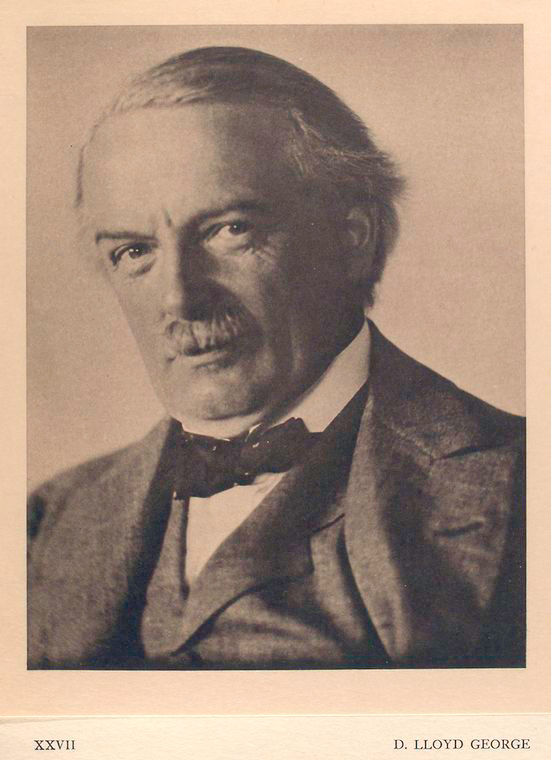 This is What David Lloyd George Looked Like  in 1922