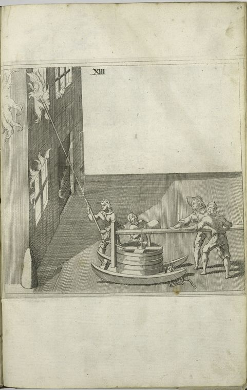 Fascinating Historical Picture of Isaac de Caus in 1701