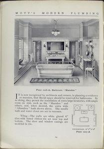 Plate 1016 - A, bathroom Marsden.