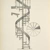 Iron circular stair. Plate 425-N.