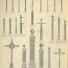 Posts, Cast iron posts, Cast iron cross and Cast iron crucifix. Plates 504-N to 527-N.]