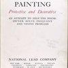 Painting, protective and decorative. Title page.