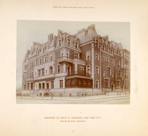 Residence of Henry G. Marquand, New York City.