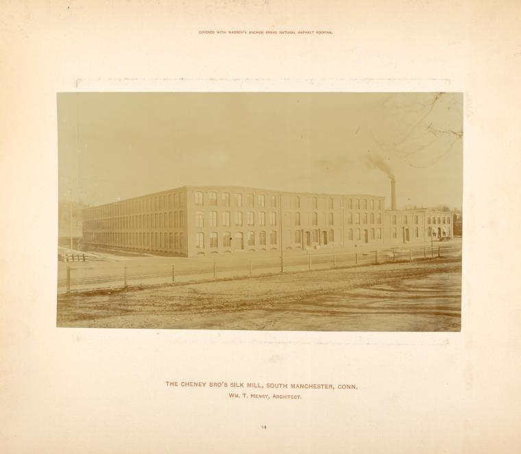 The Cheney Bro's Silk Mill, South Manchester, Conn.