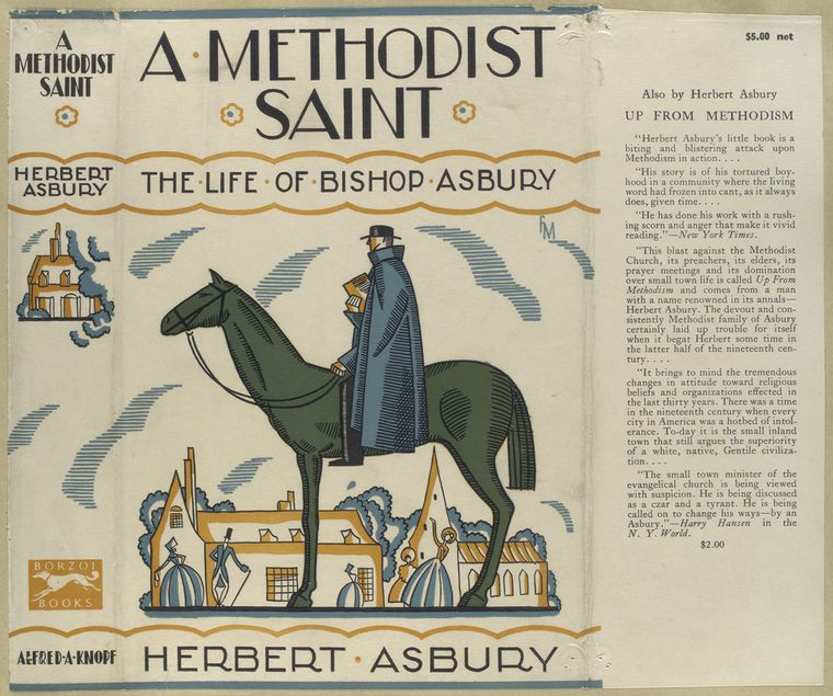A Methodist saint; the life of Bishop Asbury.