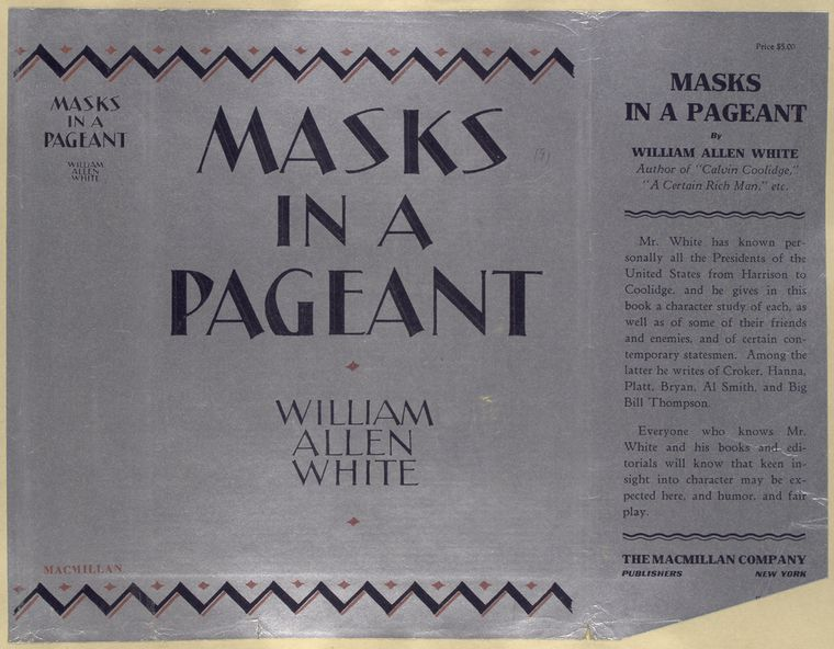 Masks in a pageant.