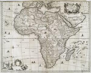 Africae Accurata Tabula ex Officina Iacobum Meursium.