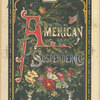 [An advertisement for the American Suspender Co. depicting flowers, the globe, an eagle, American flags, statuettes, medallions and decorative ornamentation.]