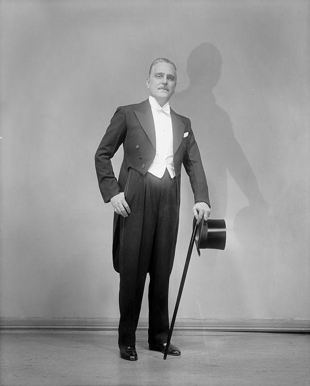 Frank Morgan in The Band Wagon (1931).