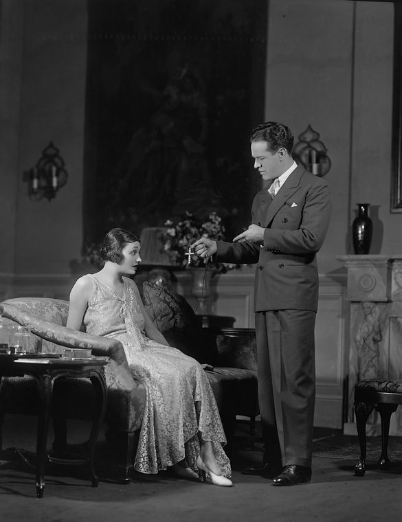 Katharine Cornell as Madeleine Carey and ?