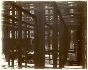 [Interior work : structural framework.]
