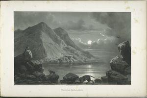 Teiche bei Hellet - Idrîs [Gebel - Ghûle, Sennâr.]