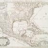 Carte du Mexique et de la Floride, des terres angloises et des Isles Antilles, du cours et des environs de la riviere de Mississipi